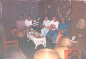 Mae and Edwin with Ramil, BJ, Rowena and Eugene